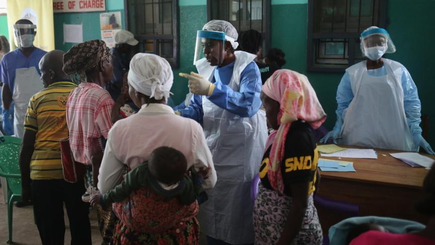 Liberia COVID-19 Response Image