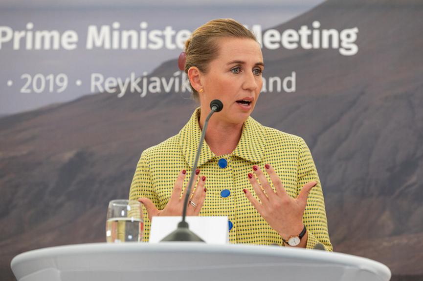 Mette Frederiksen Image
