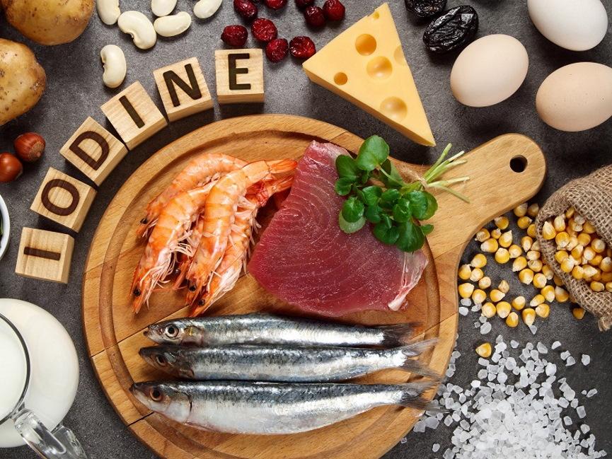 Iodine Rich Food Image