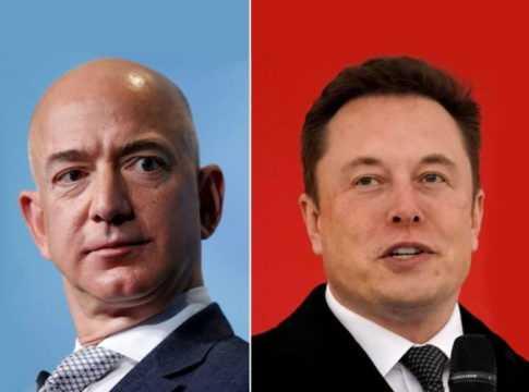 Jeff Bezos & Elon Musk Image