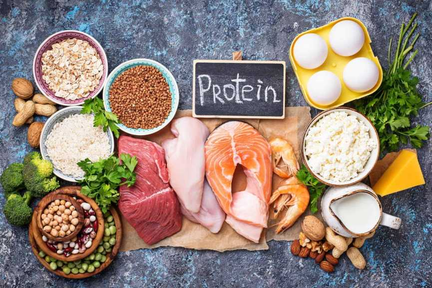 Protein Rich Food Image