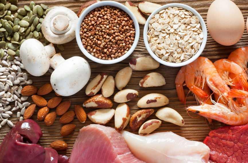 Selenium Rich Food Image