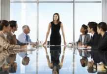 Women on boardroom