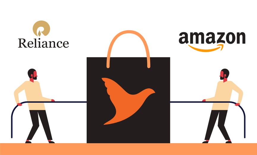 Amazon Reliance Future Group Deal Image