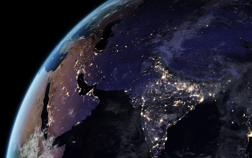 Earth from Outer Space Image