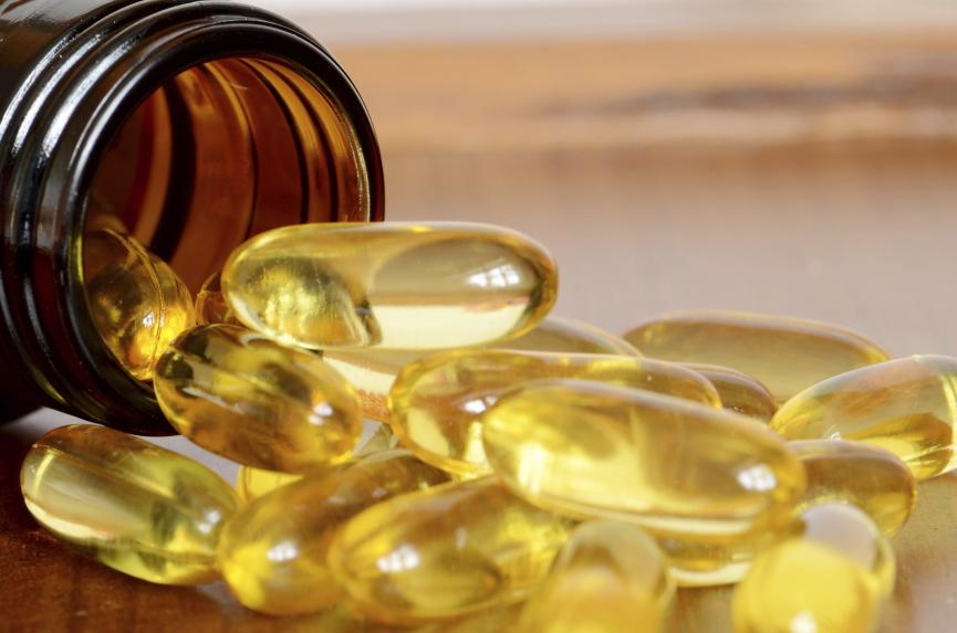 Vitamin D Supplements Image