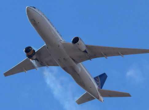 Boeing Engine Failure Image