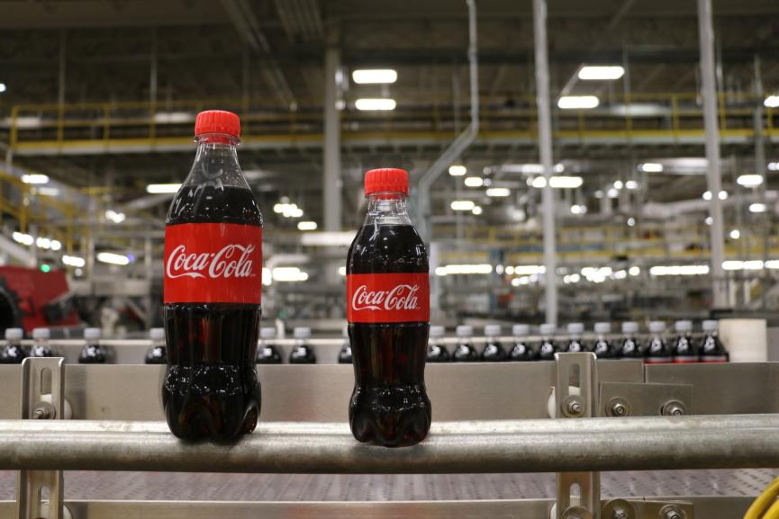 Coca Cola Bottles Image