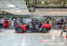 Tesla Manufacturing Image