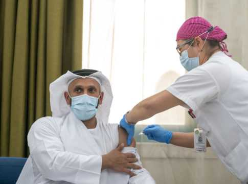 UAE COVID-19 Vaccination Launch