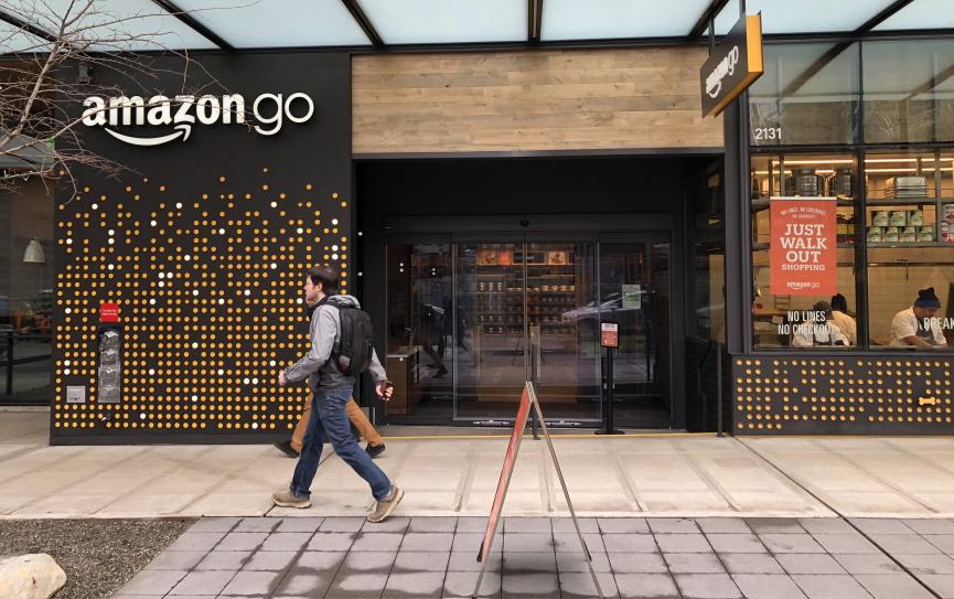 Amazon Go Store Image