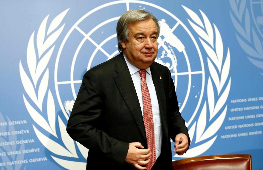 Antonio Guterres Image
