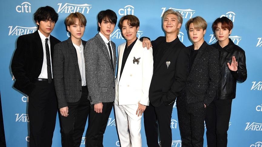 BTS Group Members