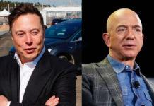Elon Musk & Jeff Bezos Image