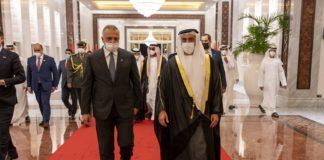 PM of Iraq and Abu Dhabi Crown Prince