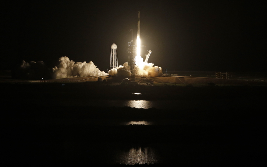 SpaceX Spacecraft Image