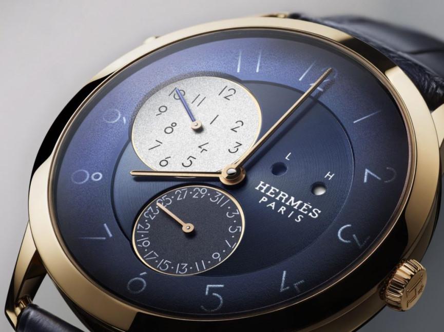 The Slim d'Hermès GMT