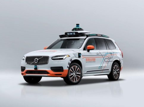 Volvo Self-Driving Test Fleet