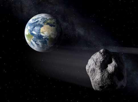 Earth, Asteroid Image