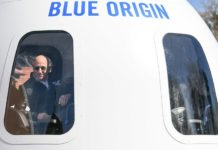 Blue Origin holds live auction to join Jeff Bezos' trip to space