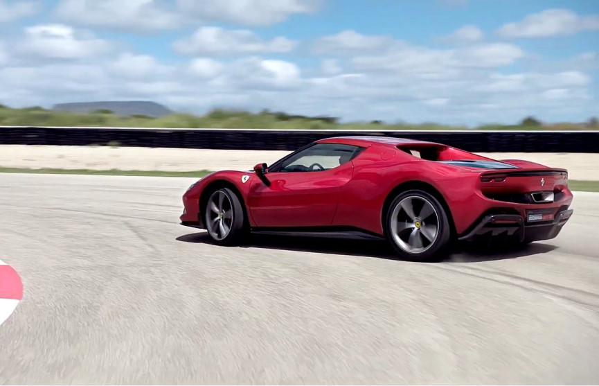 Ferrari 296 GTB On Turf