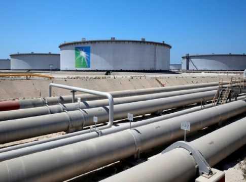 Aramco Oil Pipelines