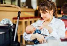 Breast Feeding Mom