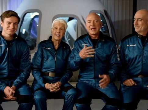 Jeff Bezos & Blue Origin