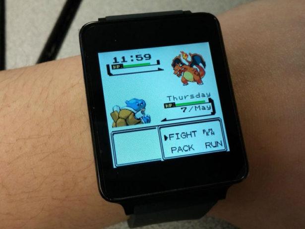 Pokemon on Pebble
