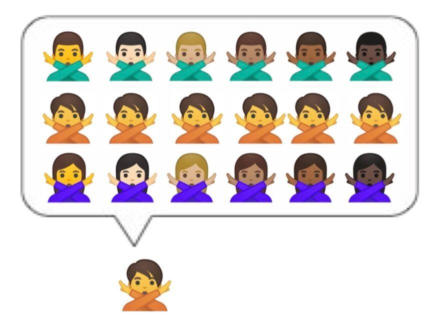 Gender Emoji