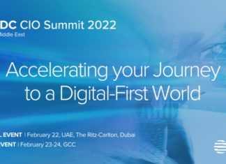 IDC CIO Summit 2022 Banner